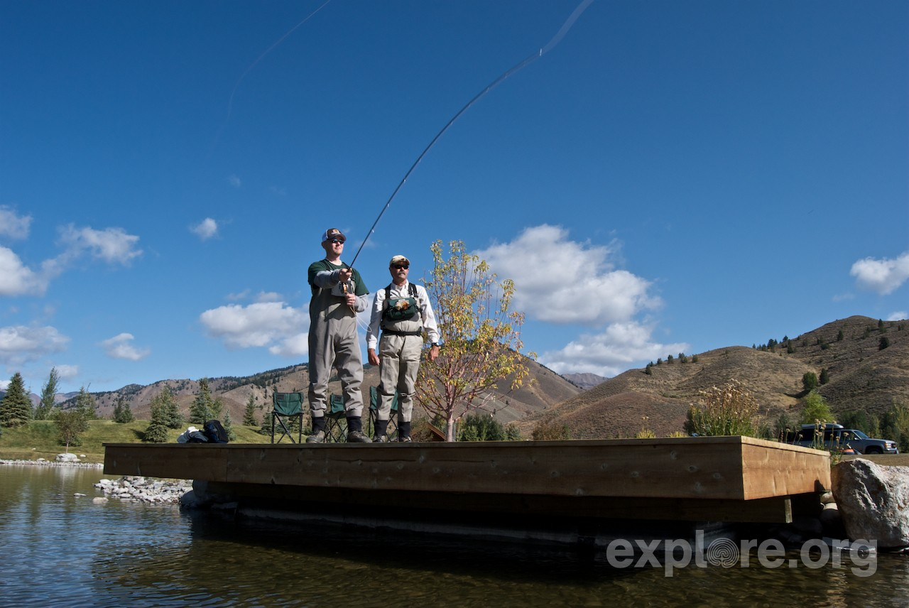 Sun Valley Fly Fishing with U.S. Veterans