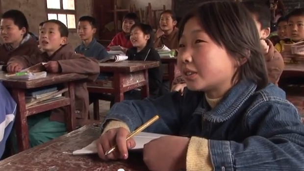 Student at AnWu school in CHina