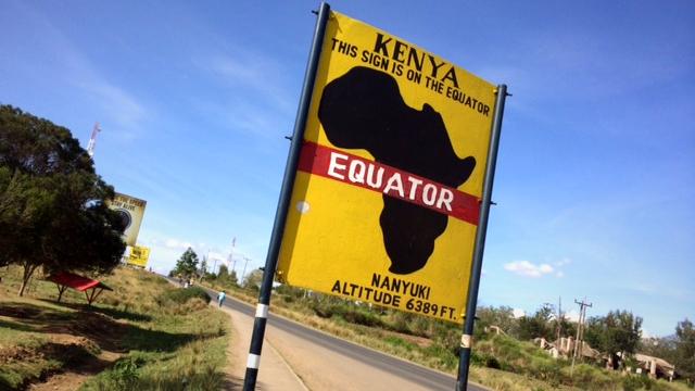 equator in africa