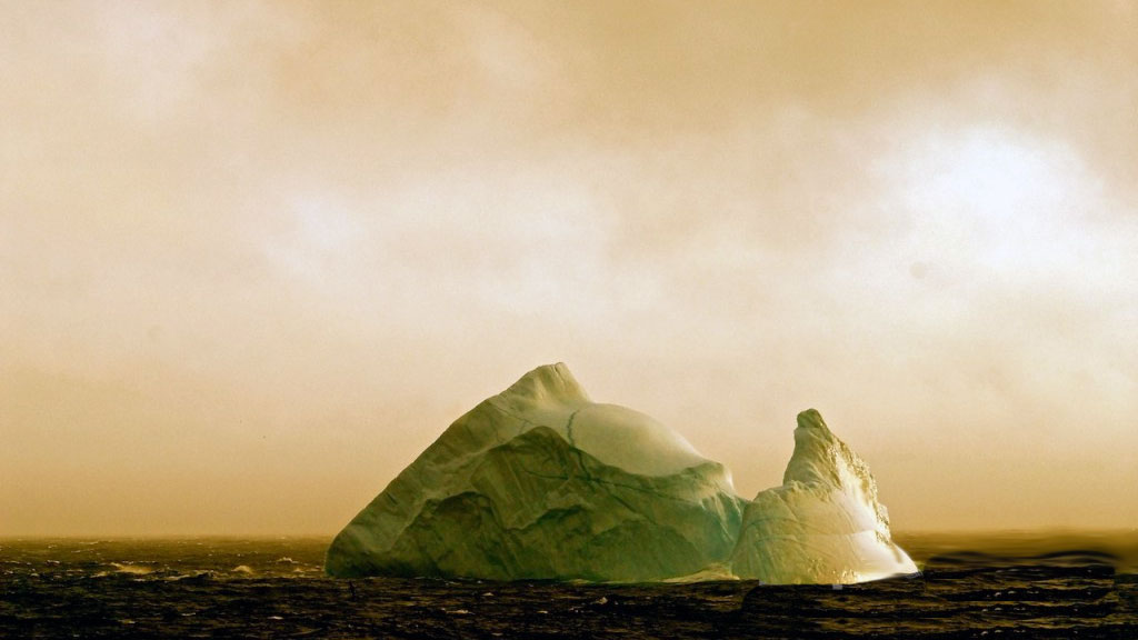 Iceberg in the Davis Strait