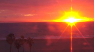 Find Zen Again with Live Sunsets from Santa Monica