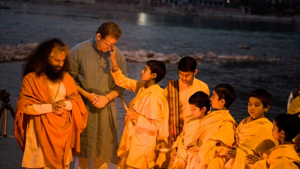 river ganges ceremony