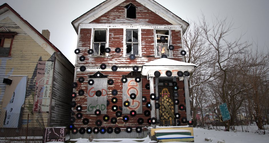Motown represented by the Heidelberg Project