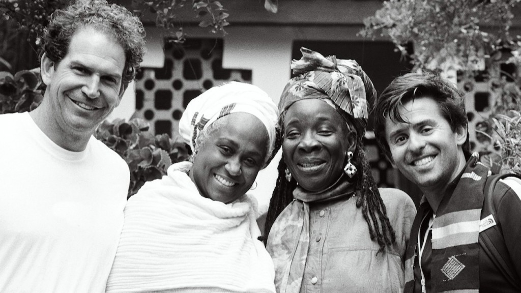 Charlie with Rita Marley