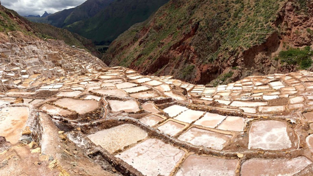 Maras Salt Flats in the Sacred Valley, Peru