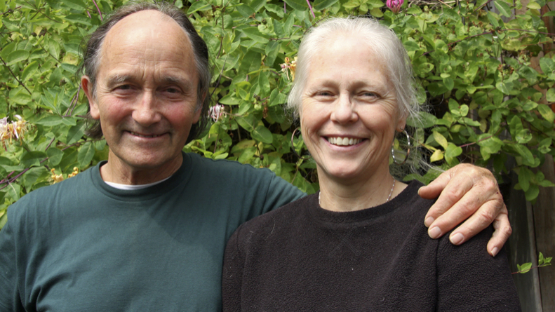 OrcaLab founders Paul Spong and Helena Symonds