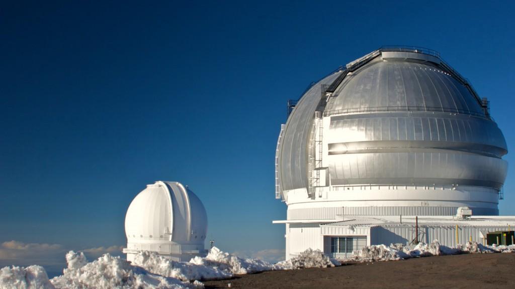 Keck Observatory on Mauna Kea