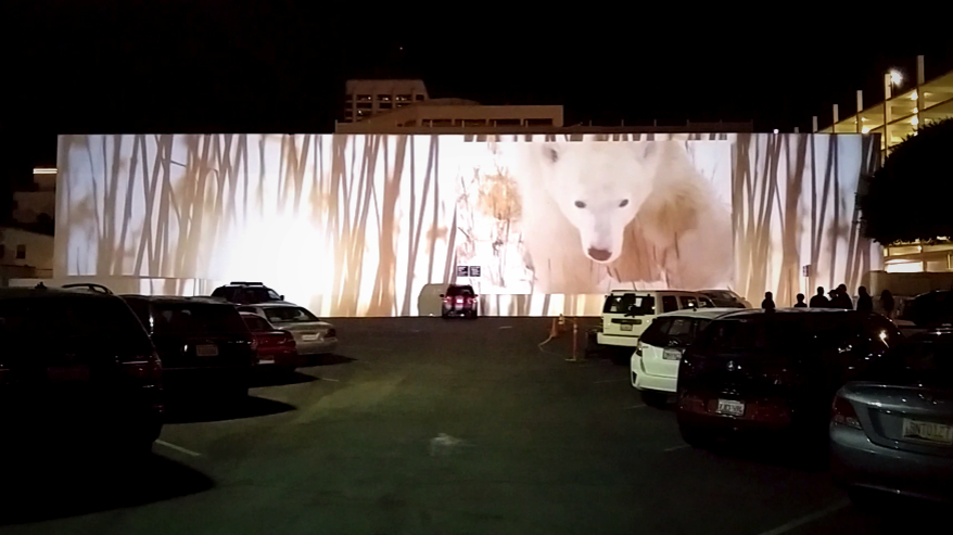 Visit the explore video installation at 2nd Street and Santa Monica Boulevard.