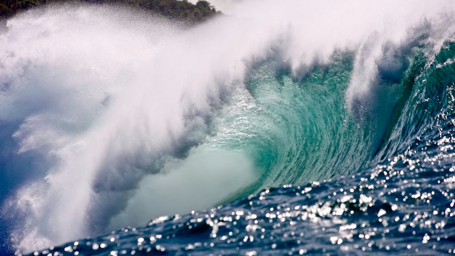 The Banzai Pipeline on Oahu's North Shore