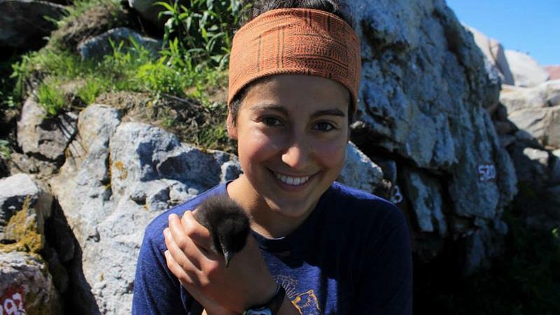 Seal Island Supervisor Isabel Brofsky