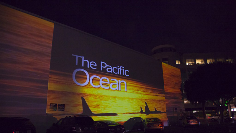 "The ""Pacific Ocean"" screens nightly though June 16th"