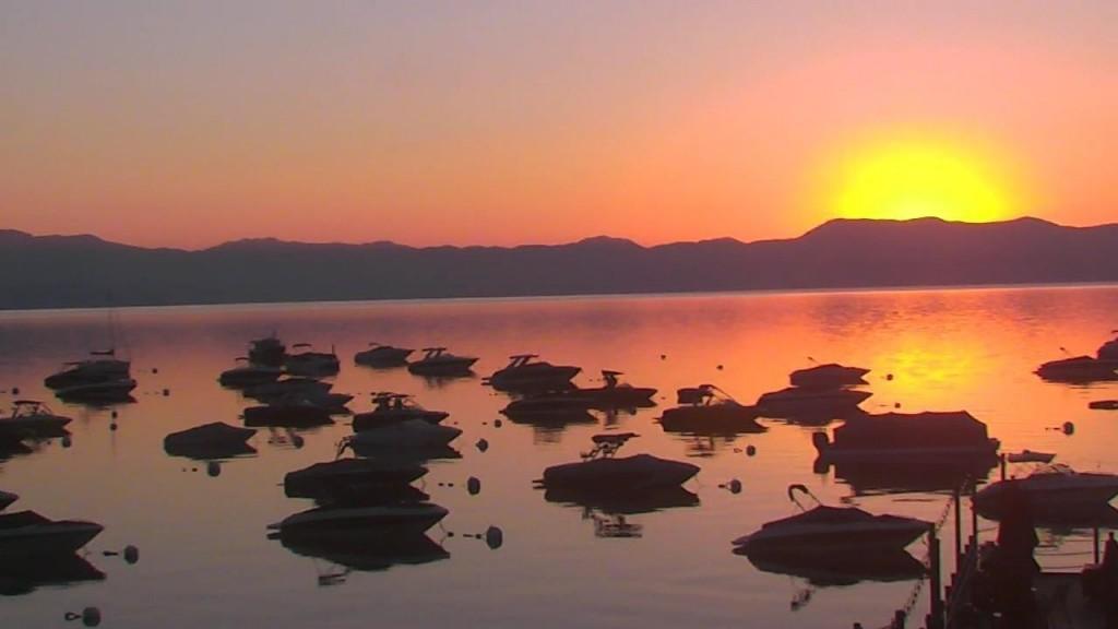 Spectacular sunrise over the West Shore of Lake Tahoe | Snapshot by JennCo