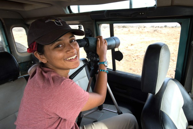 Shailee Shah, Ph. D Candidate, Columbia University.  Shailee Shah studies the evolution of cooperative breeding in Superb Starlings