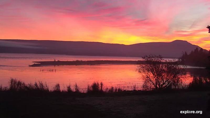 Lower River sunrise Snapshot by LaniH
