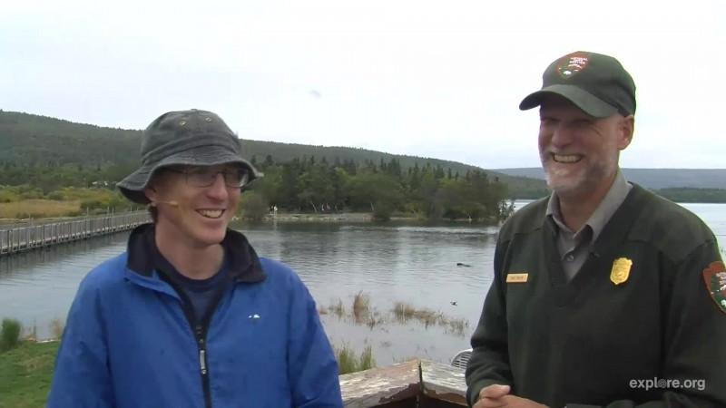Mike Fitz and Ranger Russ Snapshot by Larinor