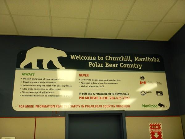 1 Polar bear sign, Churchill_11092018