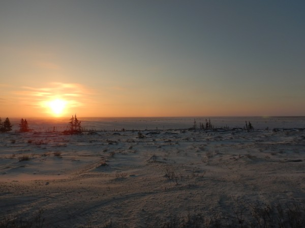 2 sunrise south of Churchill_11182018_1