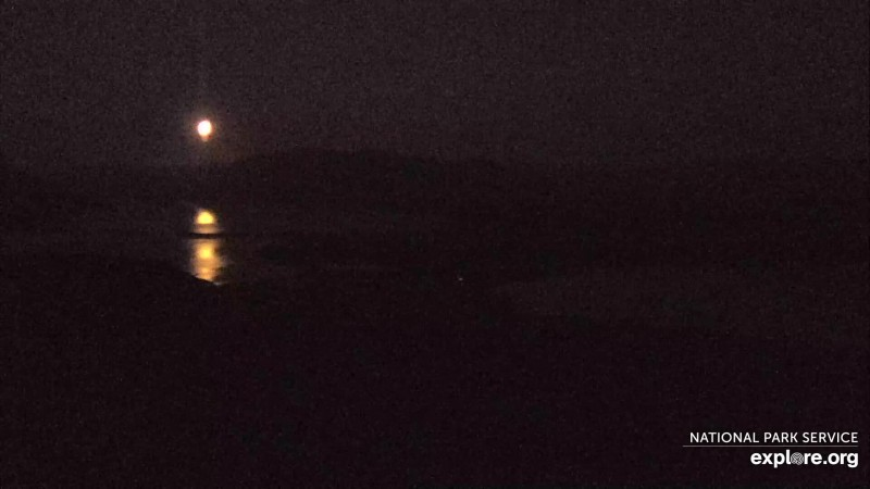 Full moon seen on Dumpling Mountain cam Snapshot by SgtPepper