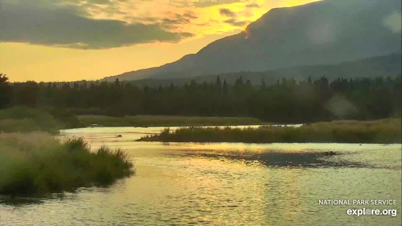 Sunset on the lower river Snapshot by GreenRiver